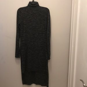 Zara knit dress with turtle neck.
